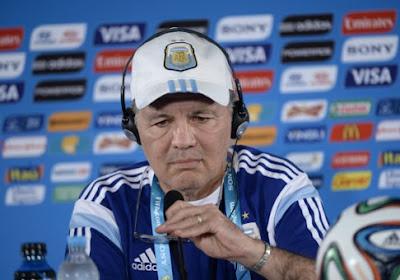 Argentijnse bondscoach legt druk bij Duitsland