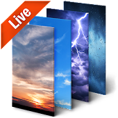 Real Time Weather Live Wallpaper