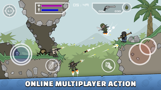 Télécharger Gratuit Mini Militia - Doodle Army 2 mod apk screenshots 1