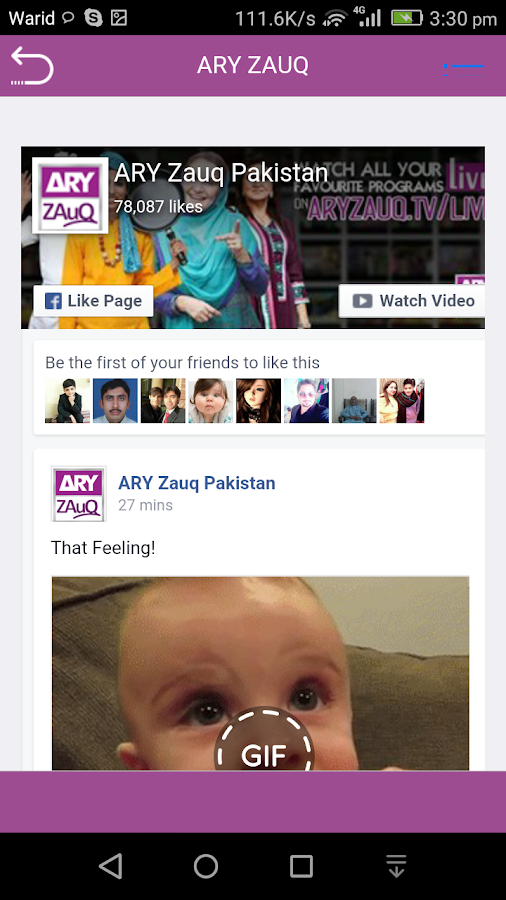 ARY ZAUQ- screenshot