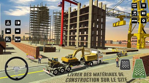 Code Triche ville construction sim: chariot u00e9lu00e9vateur camion APK MOD screenshots 2