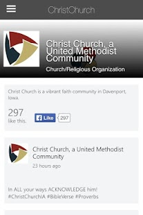 Christ Church Davenport- screenshot thumbnail