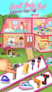 Sweet Baby Girl Cleanup 4 – House, Pool & Stable 1