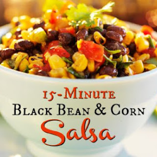 15 Minute Black Bean and Corn Salsa