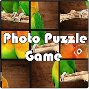 Photo Puzzle Game: Move Block and Set Picture
