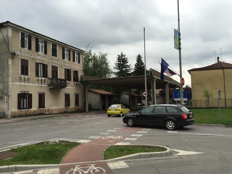 イタリアとスロベニアの国境