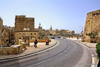 Photo: 2011-04-24. Malta. Valletta. St. Lazarus Bastion.  www.loki-travels.eu