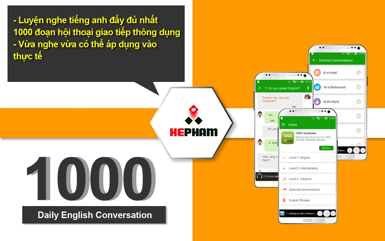 Daily English Conversation- screenshot