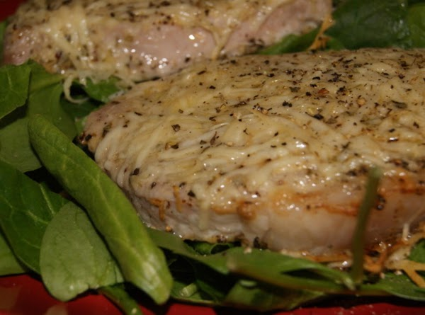 Parmesan Baked Pork Chops Recipe