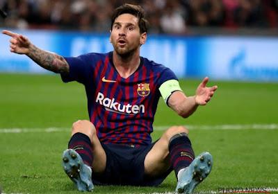 Lionel Messi geblesseerd in vlotte overwinning Barcelona tegen Sevilla