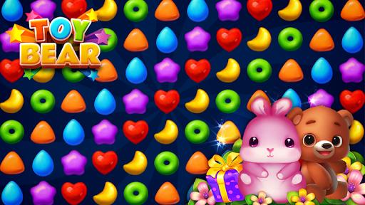 Toy Bear Sweet POP : Match 3 Puzzle screenshots 1