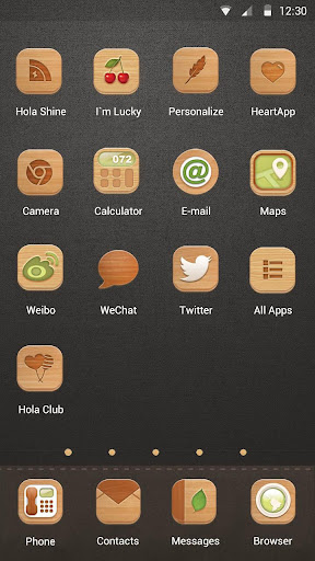 玩免費漫畫APP|下載Woodcarver's Shop - Hola Theme app不用錢|硬是要APP