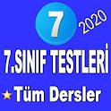 7.Sınıf Testleri Tüm Dersler icon