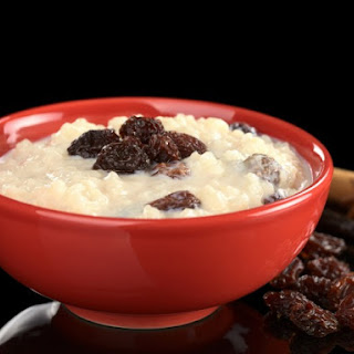 Vanilla Rice Pudding.