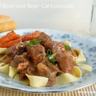 Crock Pot Beef and Beer Carbonnade.