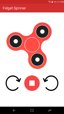 Fidget Spinner - screenshot