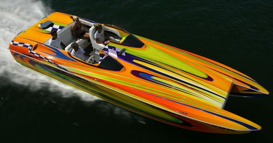 Lilly Sport Boat Design