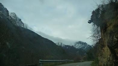 Photo: El macizo de las Ubiñas y la Mesa en la subida hacia Tuiza