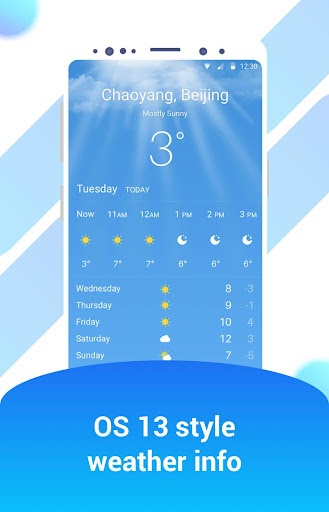 iWeather - OS style weather report Apk 1