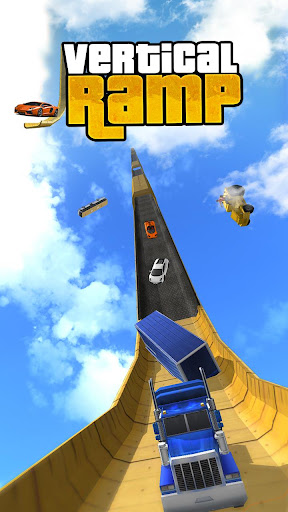 Vertical Ramp Impossible 3D apkpoly screenshots 1
