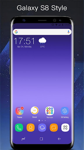 SS S8 Launcher for Galaxy S8/S7/S4 Launcher Theme Prime v3.9