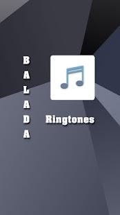 Balada Ringtones - náhled