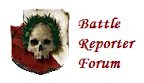 Warhammer Battle Reporter blog logo