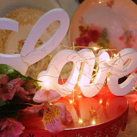 Love is in the air by Brenda Shoemake - Public Holidays Valentines Day