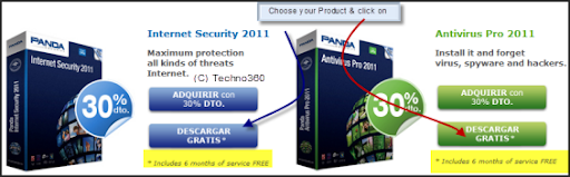 Panda Internet Security 2011 Free for 6 months