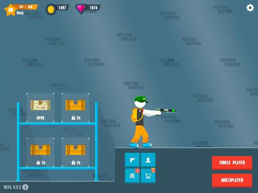Stickman Battles: Online Shooter 1.0 screenshots 12