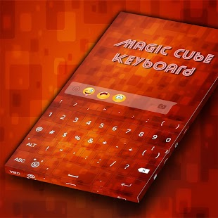 Magic Cube keyboard - náhled