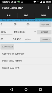Triathlon Pace Calculator- screenshot thumbnail