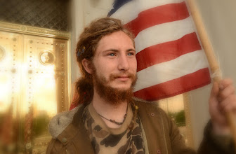 """Photo: Portrait of an unnamed man part 4.  #portraittuesday curated by +Laura Balc   Portrait, Journalism, or Propaganda? - """"99"""" on the steps of the Arkansas State Capitol USA.  For whatever reasons, this stance kind of reminds me of a painting from the American Revolution of a drum and bugle corp."""