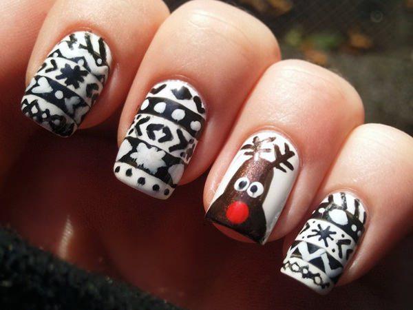 cute nail designs creem (10)