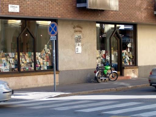 Oskola utca Sík Sándor könyvesbolt