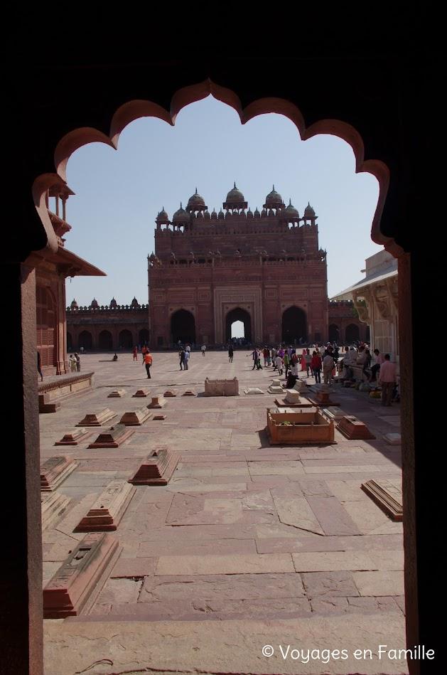 tombes, fatehpur sikri