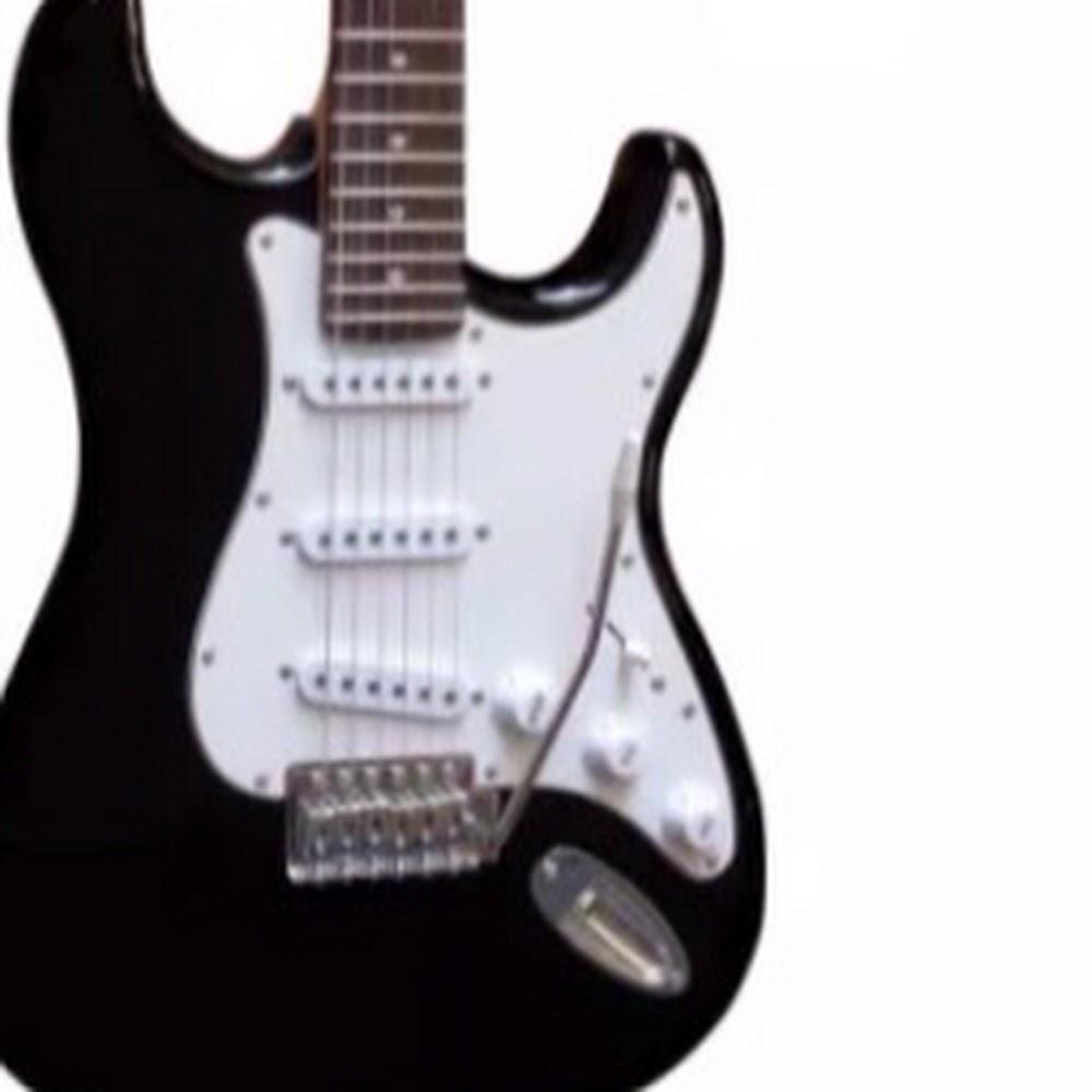 Chitarra elettrica 4/4 stile Stratocaster nera