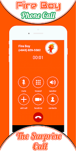 Phone Call From Fire Boy - náhled