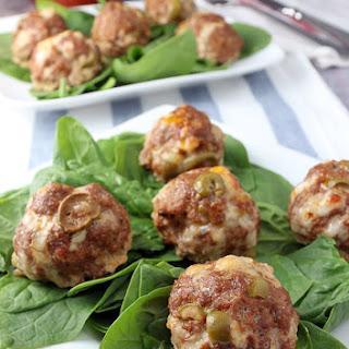 Italian Stuffed Olives Meatballs Recipes