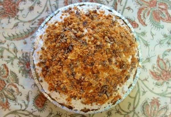 Butterfinger Pie - Easy And Quick - Less Than 10 Min Prep Time - 4 Hours To Chill - Best Desert Ever!!