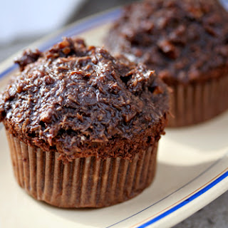 German Chocolate Cupcakes.
