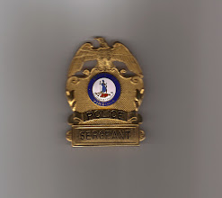 Photo: Lexington Police, Sergeant Hat Badge (Style no longer used)