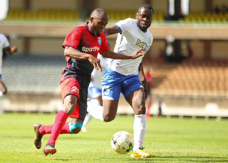 AFC Leopards midfielder looking to break to the final Afcon