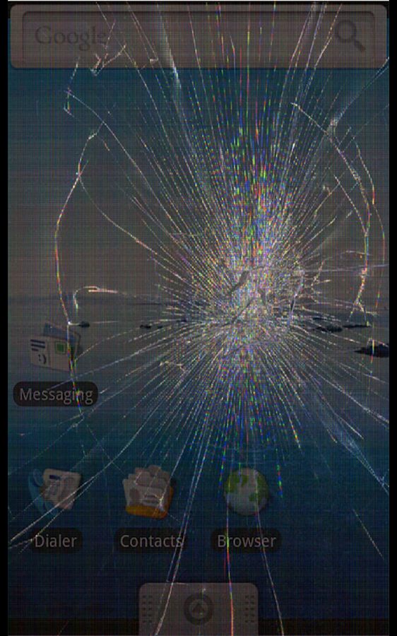 Broken Screen: Crack Screen- screenshot