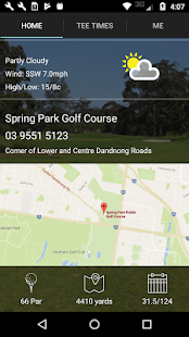 Spring Park Golf Tee Times - náhled