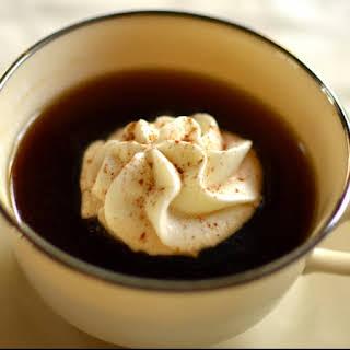 Eggnog Whipped Cream.