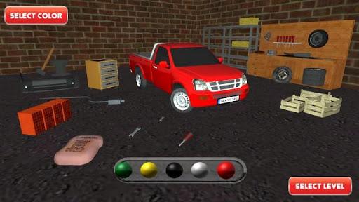 Truck Driver 3D Pickup