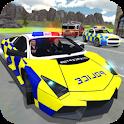 Police Car Crime Driving icon