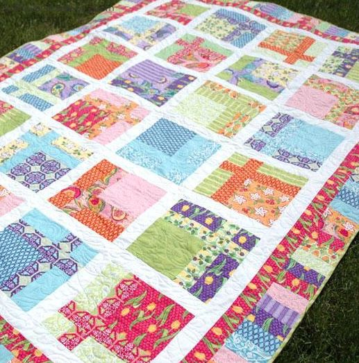Topiary Tiles Jelly Roll: Quilt Pattern