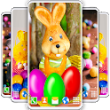 Easter Bunny Live Wallpaper 🐰 Rabbit 4K Wallpaper icon